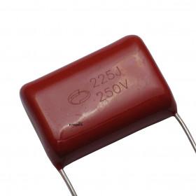Capacitor Poliéster Metalizado 2,2μF 250V 2,2uF 2u2