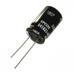 Capacitor Eletrolítico 3300μF 3300uF 25V 85ºC 16x25mm Epcos B41821A5338M