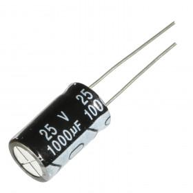 Capacitor Eletrolítico 1000μF 1000uF 25V 105ºC 10x16mm Ketuo