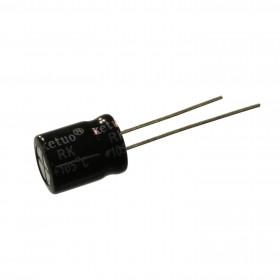 Capacitor Eletrolítico 220μF 220uF 50V 105ºC 10x13mm Ketuo