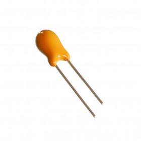 Capacitor Eletrolítico de Tântalo 4,7μF 4,7uF 4u7 35V 20%