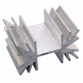 Dissipador de Alumínio RK8 30mm para TO220 ou TO218