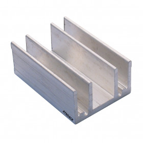 Dissipador de Alumínio RK6 40mm para TO220