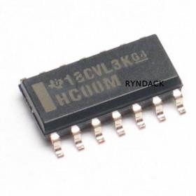 74HC00 SMD SOIC Quatro Portas NAND de 2 Entradas 7400