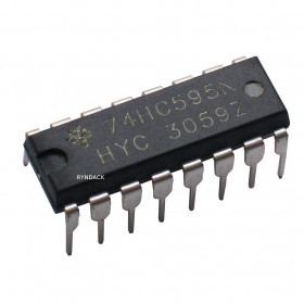 74HC595 Shift Register de 8 Bits com Saída 3-State 74595