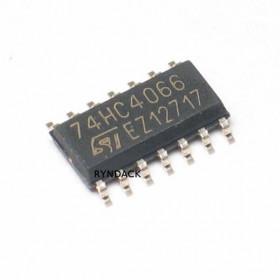74HC4066 SMD SOIC Quatro Chaves Analógicas Bi-direcionais 4066