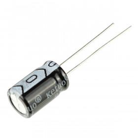 Capacitor Eletrolítico 220μF 220uF 35V 105ºC 8x12mm