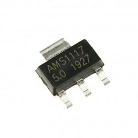 AMS1117-5.0 Regulador de Tensão 5V SOT223 LM1117-5.0