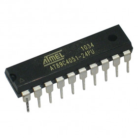 AT89C4051-24PU Microcontrolador de 8 Bits com Flash de 4kB