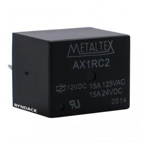 Rele Metaltex AX1RC2 12V 15A 1 Contato Reversível