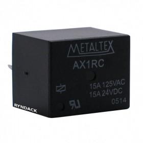 Rele Metaltex AX1RC3 24V 15A 1 Contato Reversível
