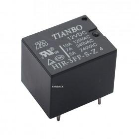 Rele 12V 10A 1 Contato Reversível 5 Pinos