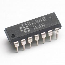 LM348 Amplificador Operacional Quádruplo
