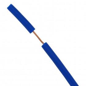 Cabo de Teste Ultraflexível de Silicone 0,25mm² Azul 1000V 70°C (metro)