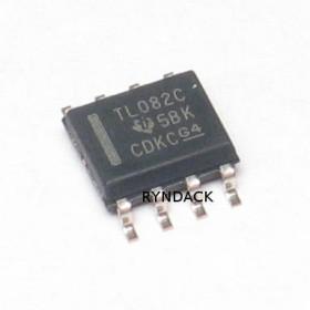 TL082CDR SMD SOIC Amplificador Operacional Duplo JFET de Uso Geral