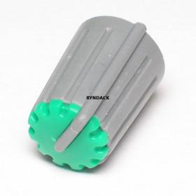 Botão Knob KA481 Verde para Potenciômetro
