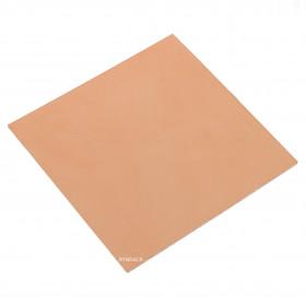 Placa Virgem de Fibra de Vidro Face Simples 10x10cm
