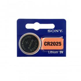 Pilha Bateria Botão de Lítio CR2025 3V Sony