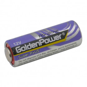 Pilha Alcalina 12V A23G 60mAh GoldenPower High Voltage