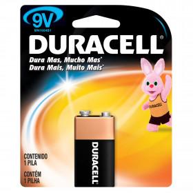 Bateria Alcalina 9V 6F22 Duracell