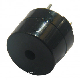 Buzzer Contínuo 12V 12mm com Oscilador Beep