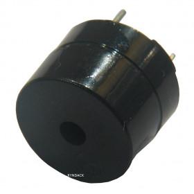 Buzzer Contínuo 9V 12mm com Oscilador Beep