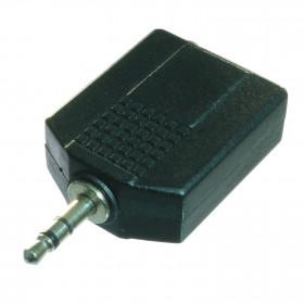 Adaptador Y P2 x J10 P10 Estéreo
