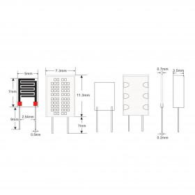 Sensor de Umidade Resistivo HR202L