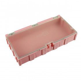 Módulo 4 para Organizador de SMD Rosa 125x62x21mm