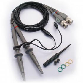 Par de Pontas para Osciloscópio 100MHz P6100 x1 e x10 120cm