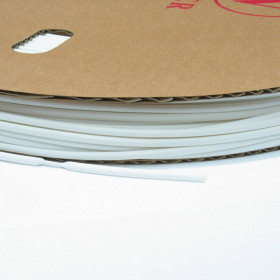 Espaguete Termo Retrátil Branco 6,4mm (Metro)