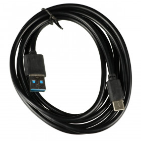 Cabo USB 2.0 tipo A x USB tipo C 1,8m
