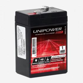 Bateria Selada VRLA 6V 4,5Ah UP645SEG Unipower