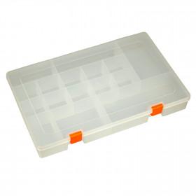 Caixa Organizadora Plástica Transparente Grande 16 Divisórias 348*224*45,8mm