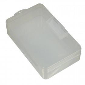 Caixa Organizadora Plástica Transparente 1 Divisória 145*88*40mm