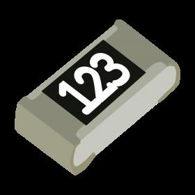 Resistor 12kΩ 5% 1/10W SMD 0603