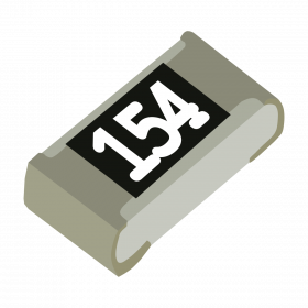 Resistor 150kΩ 5% 1/10W SMD 0603