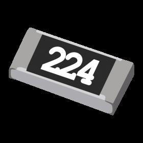 Resistor 220kΩ 5% 1/4W SMD 1206