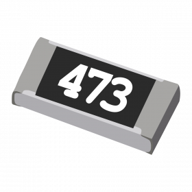 Resistor 47kΩ 5% 1/4W SMD 1206