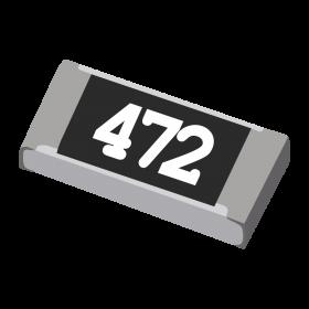 Resistor 4,7kΩ 5% 1/4W SMD 1206 4k7