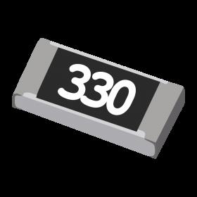 Resistor 33Ω 5% 1/4W SMD 1206 33R