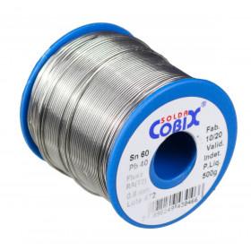 Solda Estanho Cobix SnPb 60x40 0,8mm Fluxo RA Carretel 500g