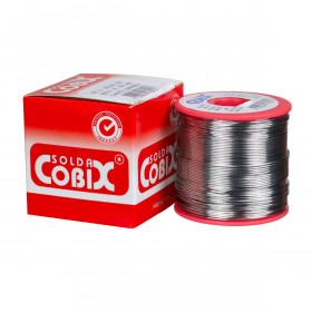Solda Estanho Cobix SnPb 63x37 0,5mm Fluxo RA Carretel 500g