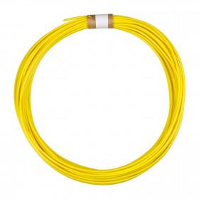 Cabo tipo Cabinho para Eletrônica Amarelo 0,75mm² (metro)
