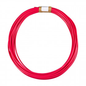Cabo tipo Cabinho para Eletrônica Vermelho 0,75mm² (metro)