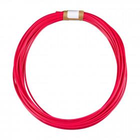 Cabo tipo Cabinho para Eletrônica Vermelho 1mm² (metro)
