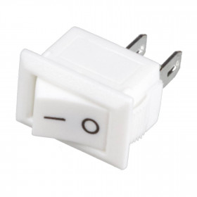 Mini Chave Gangorra Branca 2 Terminais KCD11-101