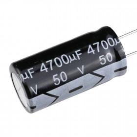 Capacitor Eletrolítico 4700μF 4700uF 50V 105ºC 18x35mm