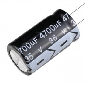 Capacitor Eletrolítico 4700μF 4700uF 35V 105ºC 18x30mm