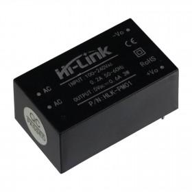 Mini Fonte HiLink HLK-PM01 100-240V para 5V 3W